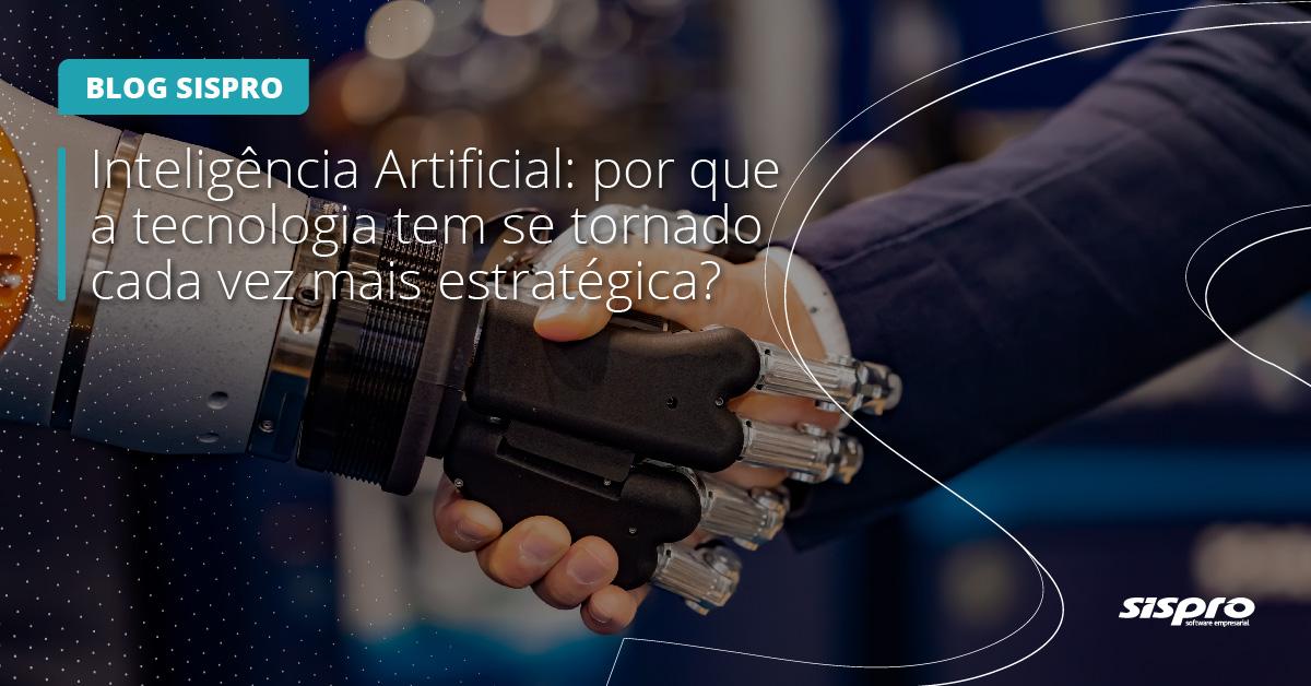 a inteligência artificial como estratégia tecnológica