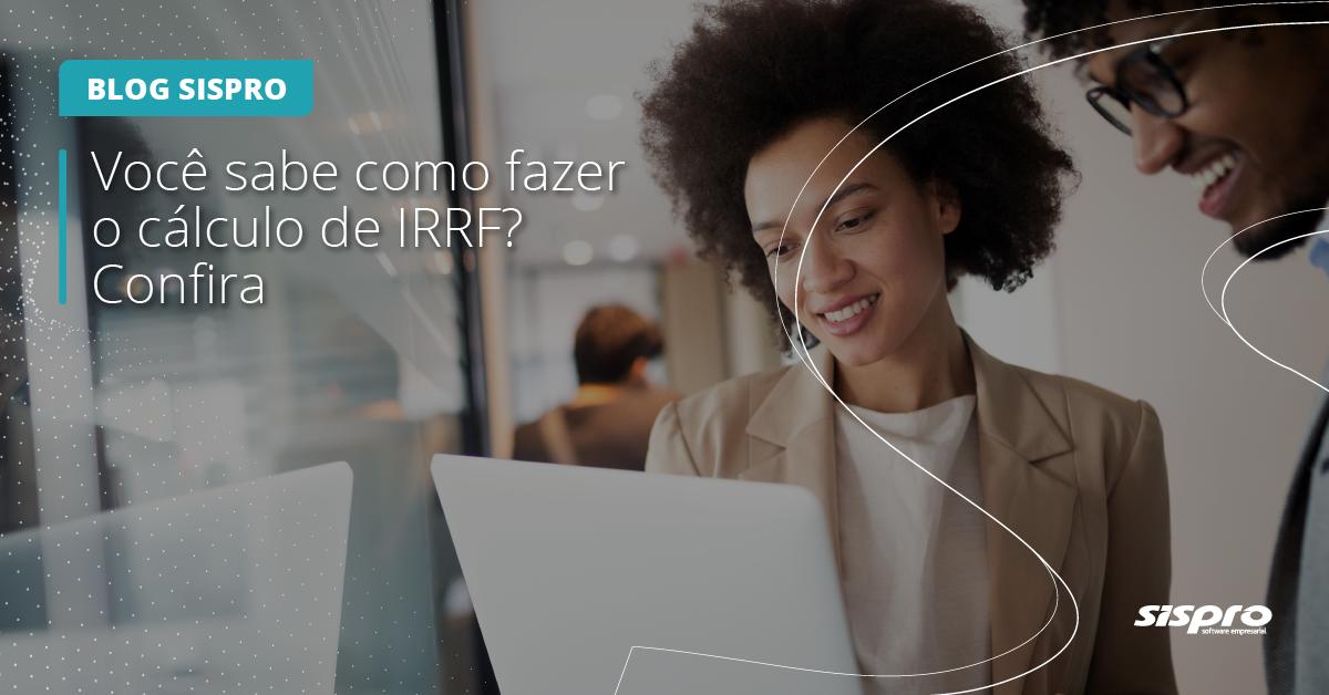 como calcular o IRRF